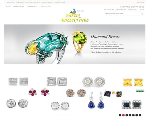 Diamond jewlery store